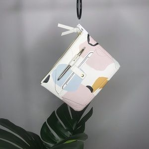 Abstract Pouch/ Clutch
